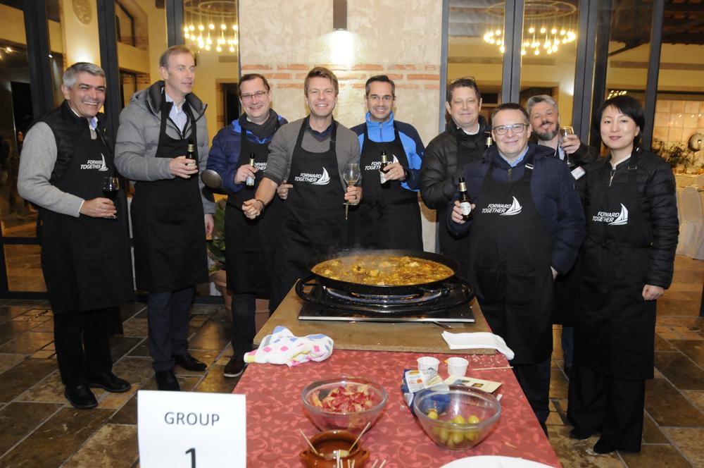 El Huerto de Santa María, Eventos en Valencia, Paella Cooking