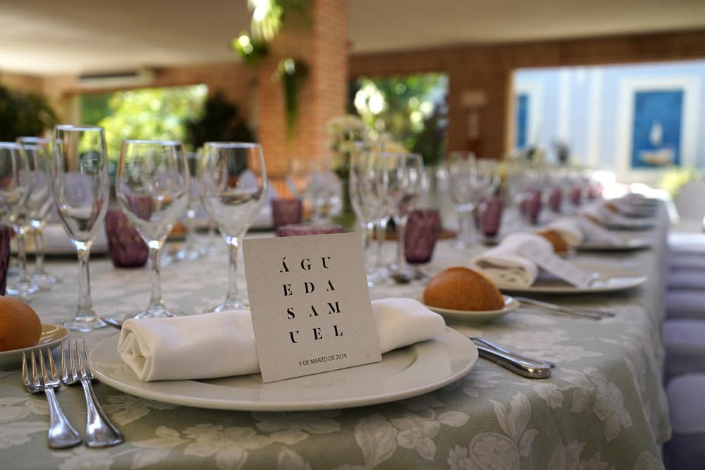 Banquete de Boda en Valencia, Huerto de Santa María