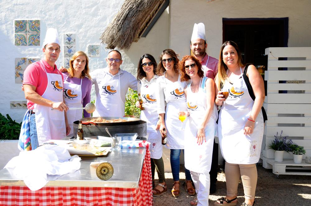 Actividad Paella Valenciana, Actividad para empresas, Eventos para Empresas.