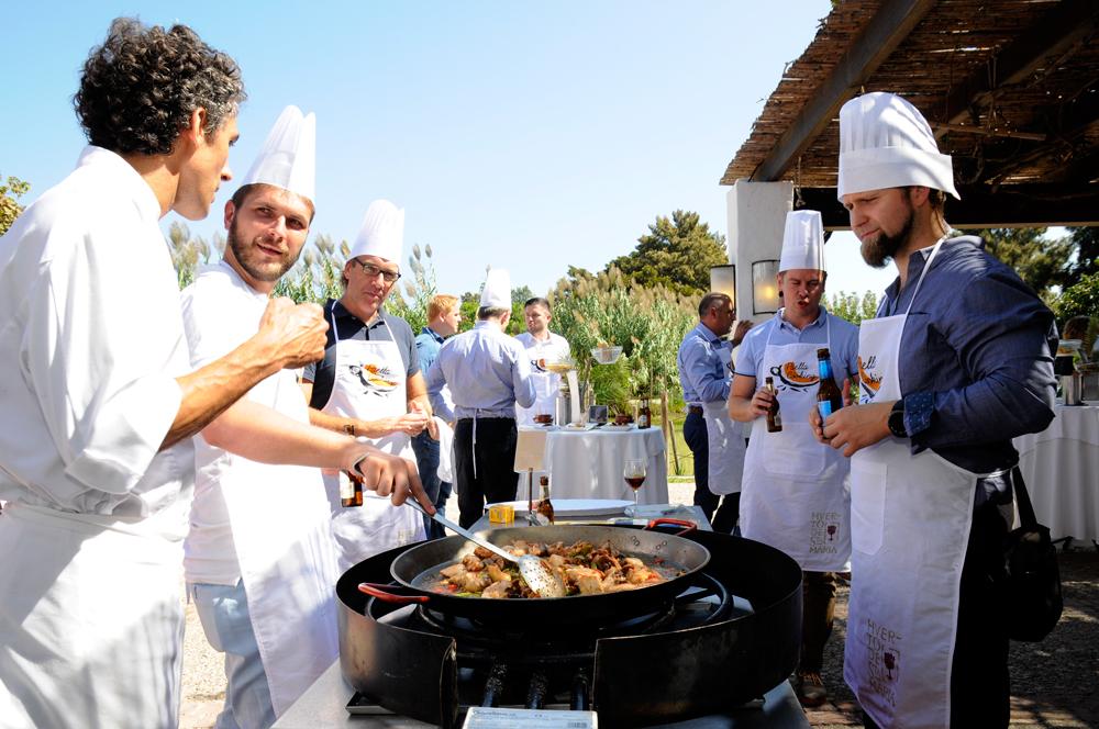 Paella Valenciana, Actividad para Empresas.