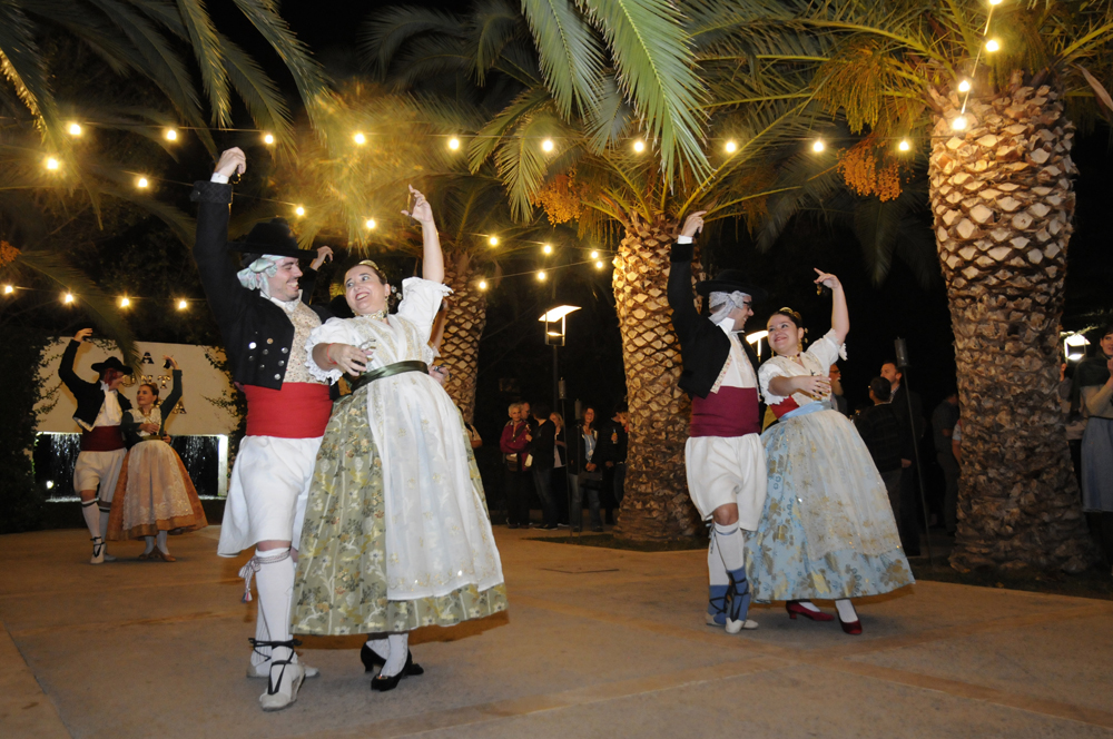 Congreso Valencia, Cena de Gala, Huerto de Santa María
