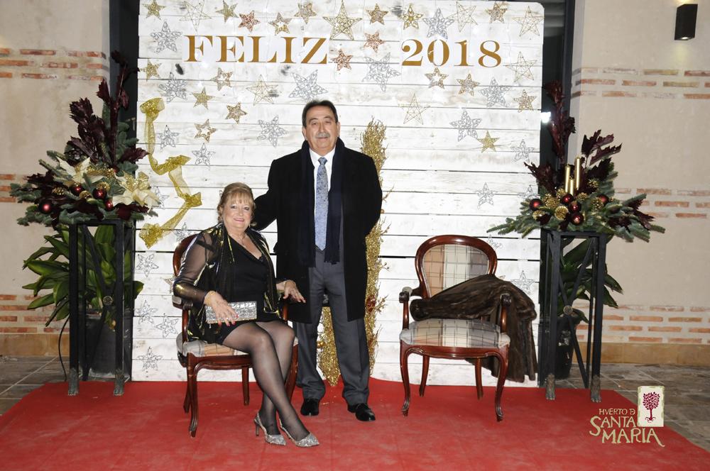 Nochevieja 2017 Huerto de Santa María