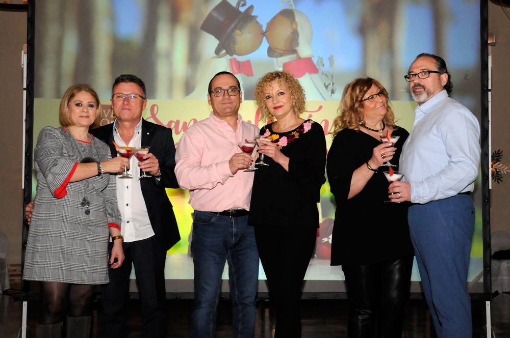 San Valentín, Huerto de Santa María, Eventos en Valencia
