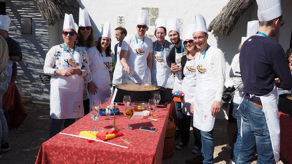 El Huerto de Santa María, Eventos en Valencia
