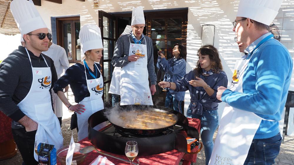 Concurso de Paellas Valencia, Huerto de Santa María