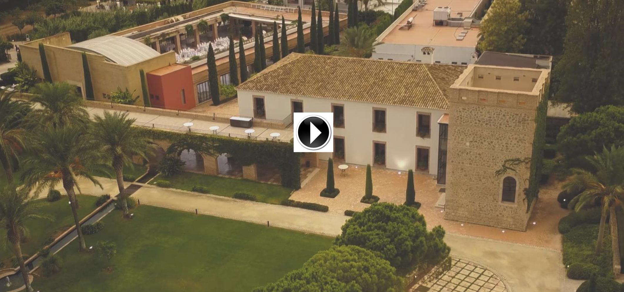 Imágenes aéreas Huerto de Santa María