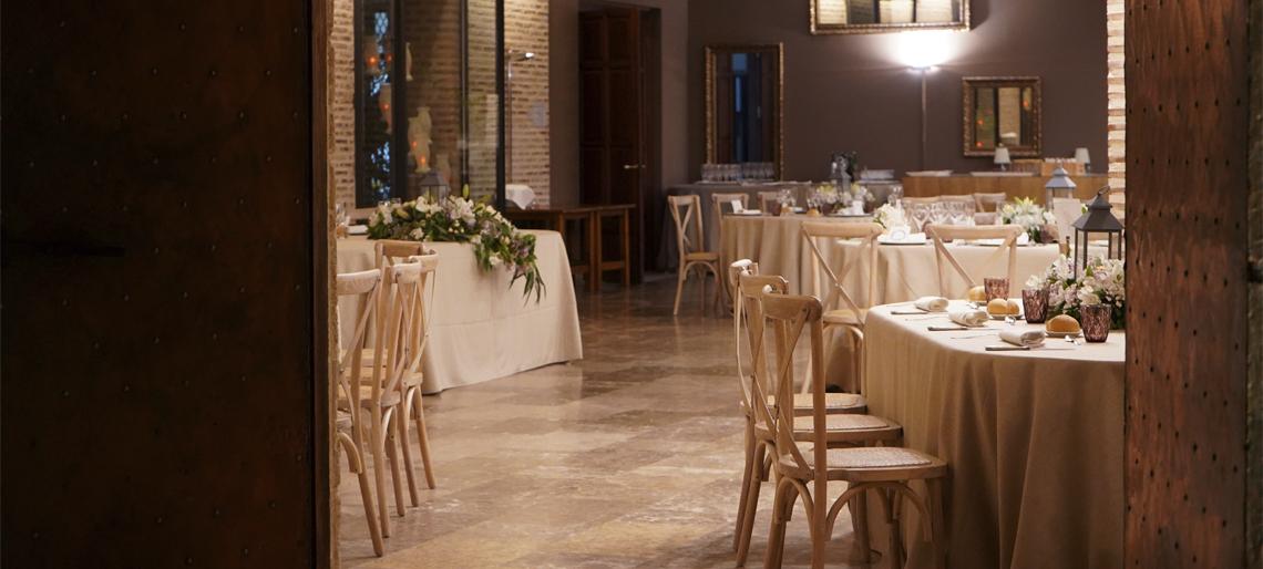 Banquete de Boda en Valencia, Boda en Valencia, Huerto de Santa María